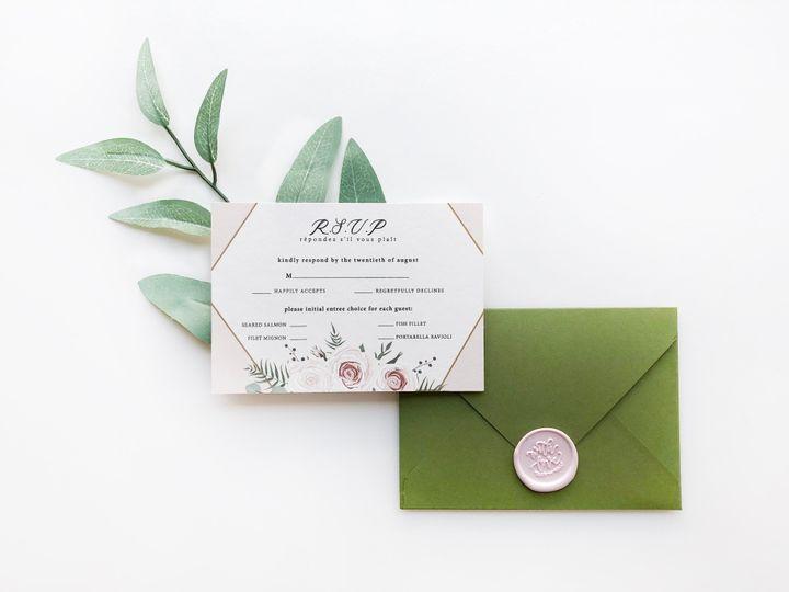 Tmx Rsvp With Leaves 51 1873779 1572376659 Yorba Linda, CA wedding invitation