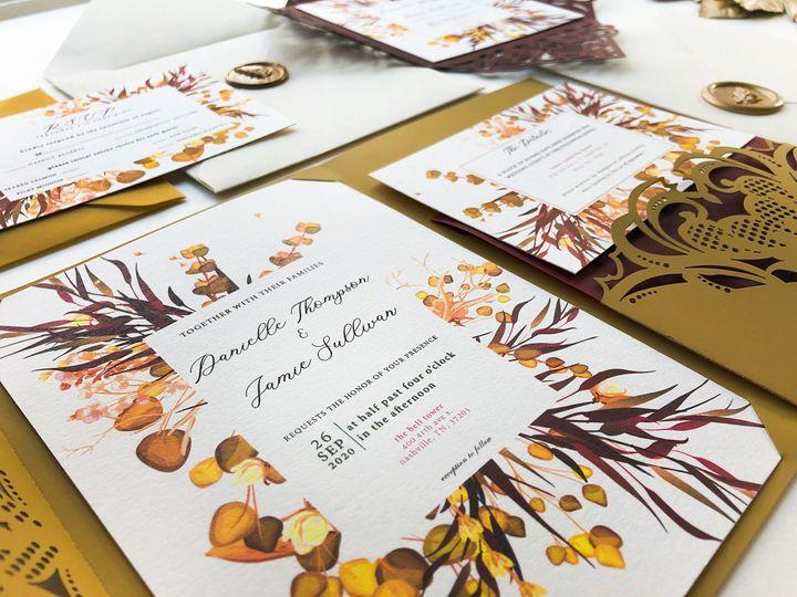 Tmx Side Shot 51 1873779 1567700152 Yorba Linda, CA wedding invitation