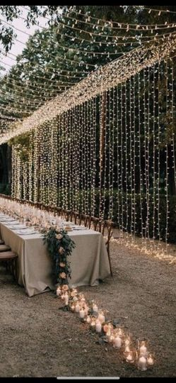 Lights Galore dinner