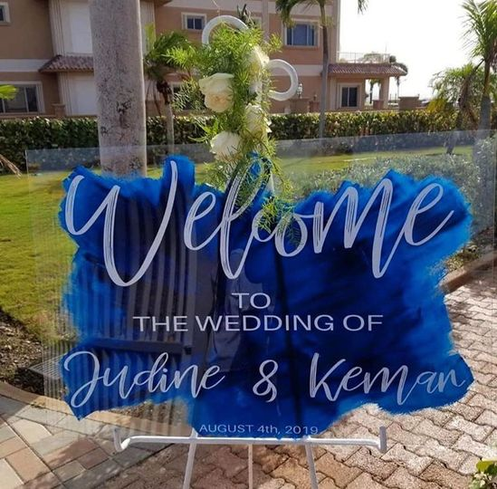 Painted Welcome Sign