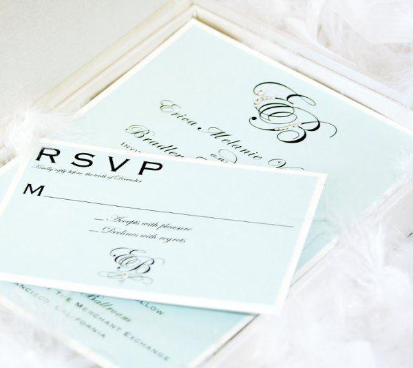 Tmx 1274393111732 MonogramInviteandRSVP San Diego wedding invitation