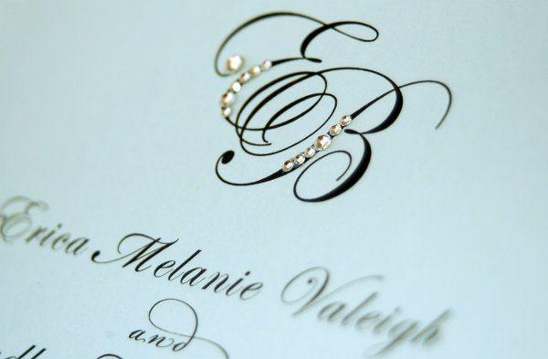 Tmx 1274393122404 MonogramInviteClose San Diego wedding invitation