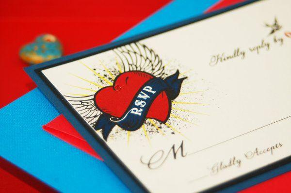Tmx 1274393190763 TattooRSPVP San Diego wedding invitation