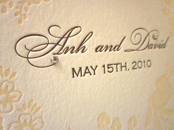 Tmx 1274557230990 IMG0349 San Diego wedding invitation