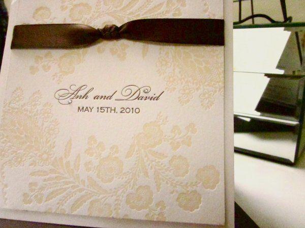 Tmx 1274557268927 IMG0357 San Diego wedding invitation
