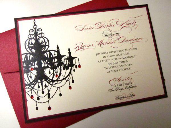 Tmx 1274557334287 IMG0376 San Diego wedding invitation