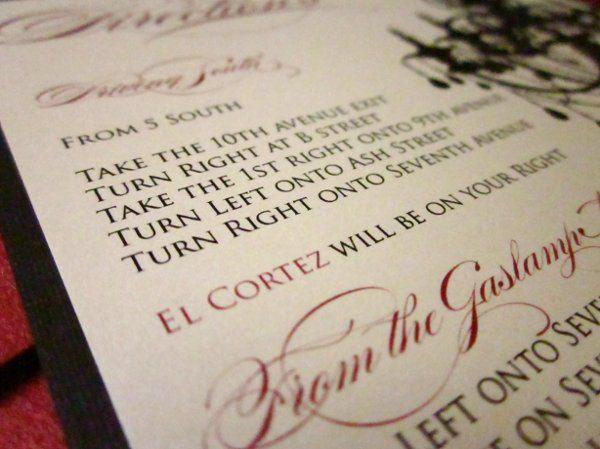 Tmx 1274557433443 IMG0386 San Diego wedding invitation