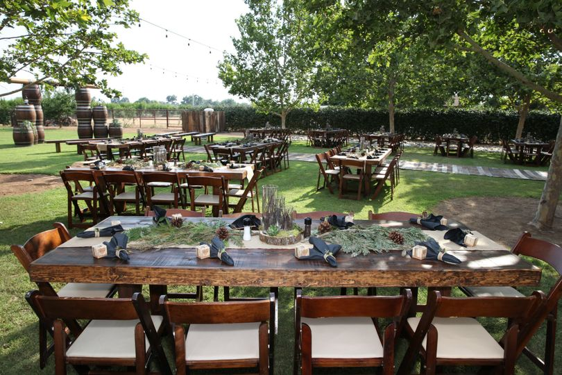 Farm Tables & Fruitwood Chairs
