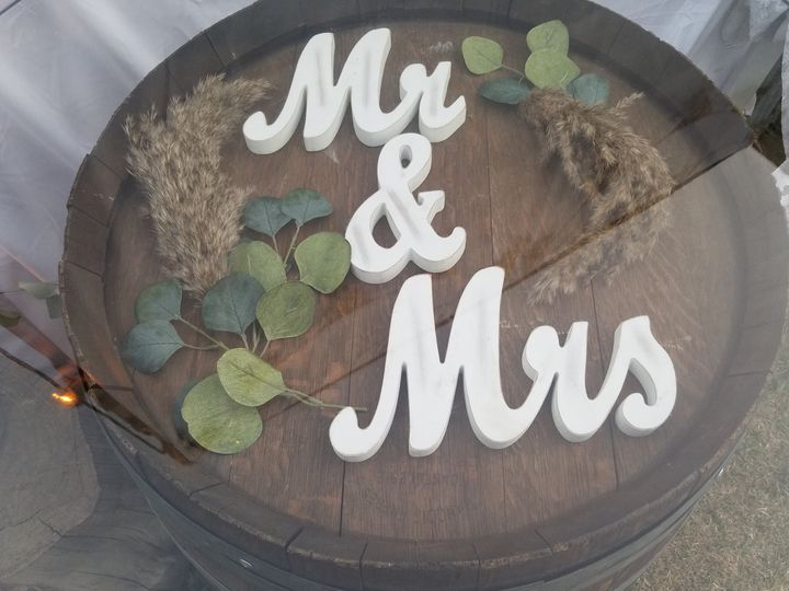 Customized Sign in Tables