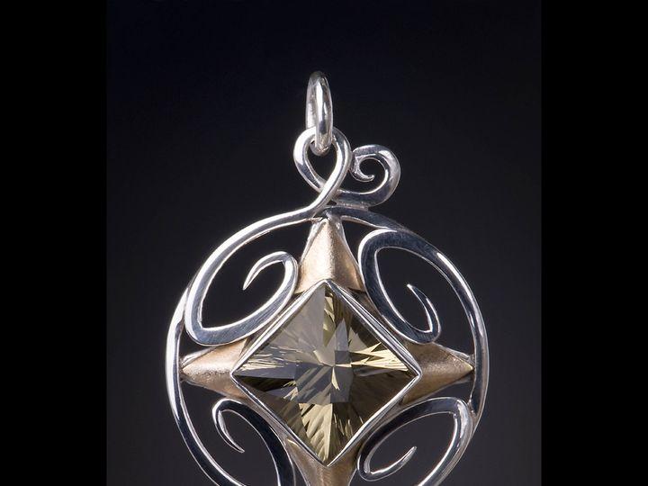 Tmx 1458173406817 Oneofakindpendantgoldsilvergems Portland wedding jewelry