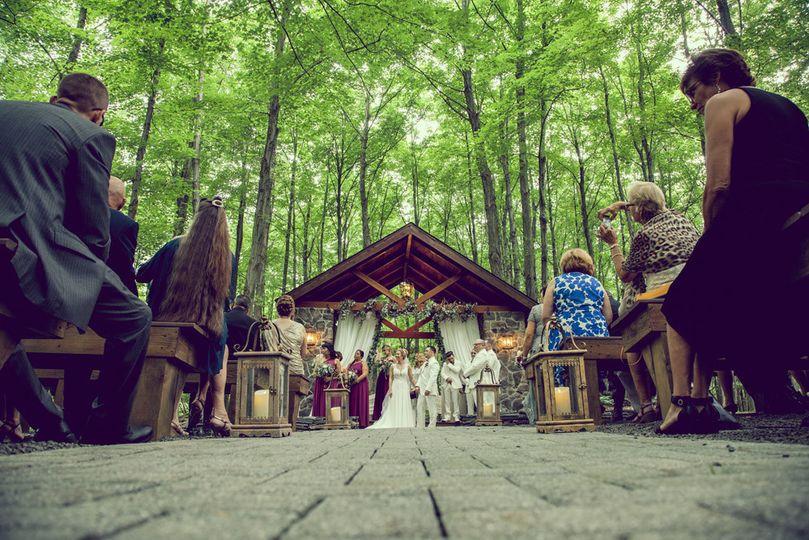 Woodsgate newlyweds