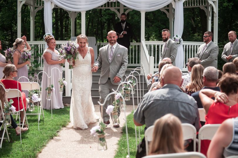 Ceremony gazebo