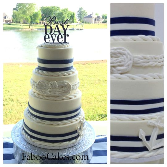 Faboo Cakes - Wedding Cake - Hendersonville, TN - WeddingWire