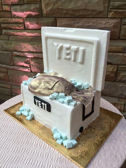 Cooler cake