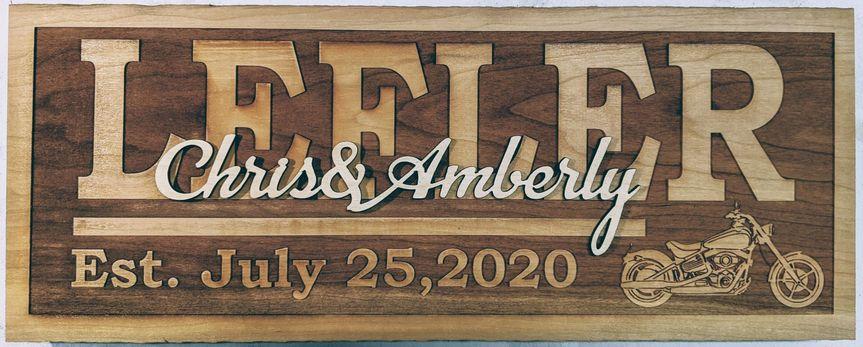 Custom wood plaques