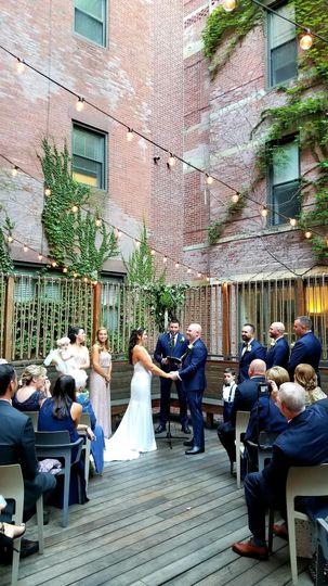 Wedding Ceremony, SRV, Boston, MA