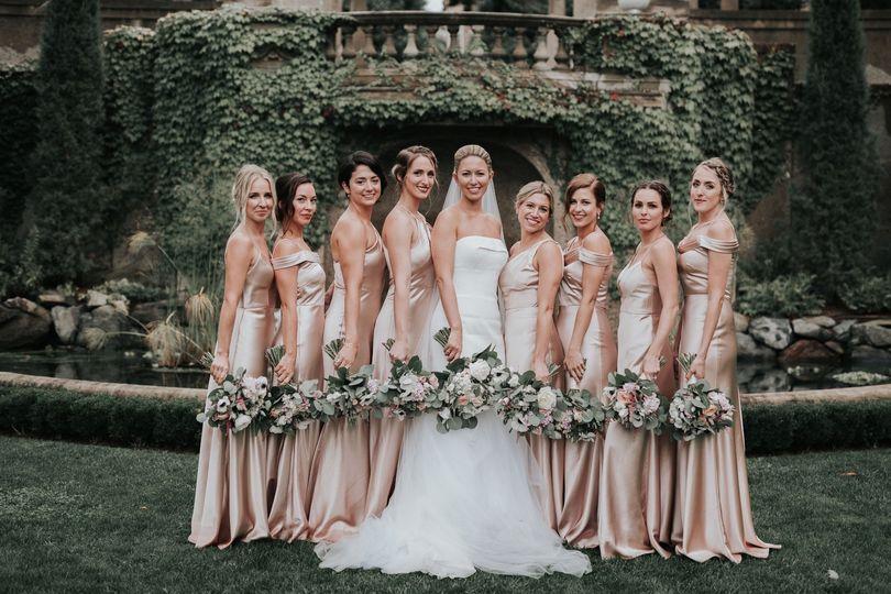 Bridesmaids, Crane Estate