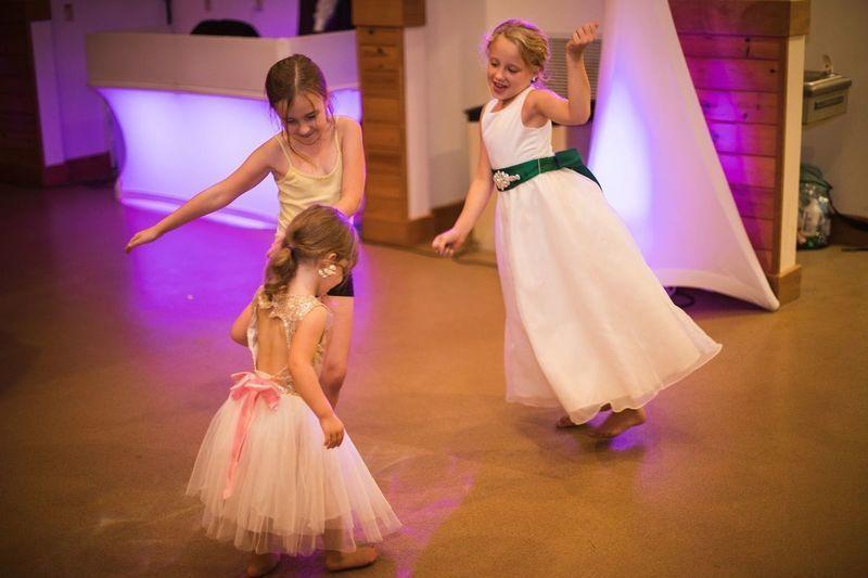 Junior attendant's dance