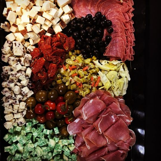 The antipasto display is one of our faves!