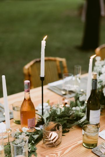 Those themed centerpieces