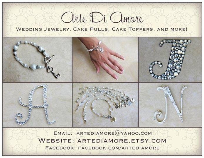 artediamore wedding card front
