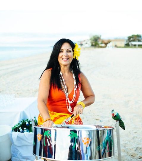Beach Weddings - Battery PA system is available