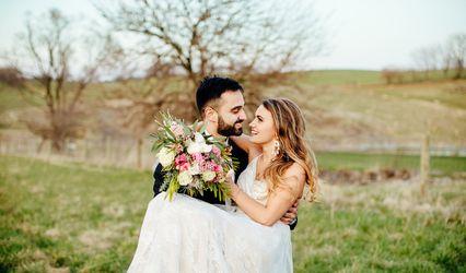 The wedding of Aaron and Carolyn