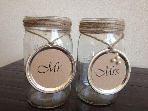 mr n mrs mason jars