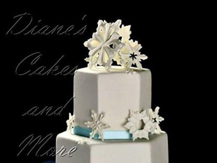 Tmx 1292455578158 Snowflakeweddingcake Waynesville, MO wedding planner