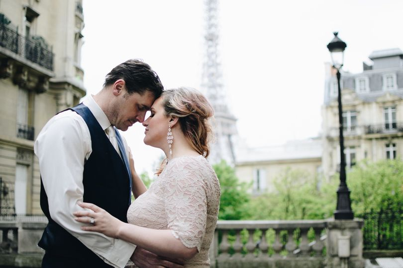 Vow renewals are magical in Paris.