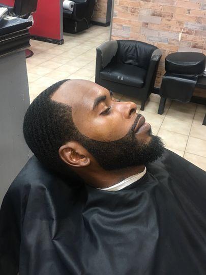 Beard line