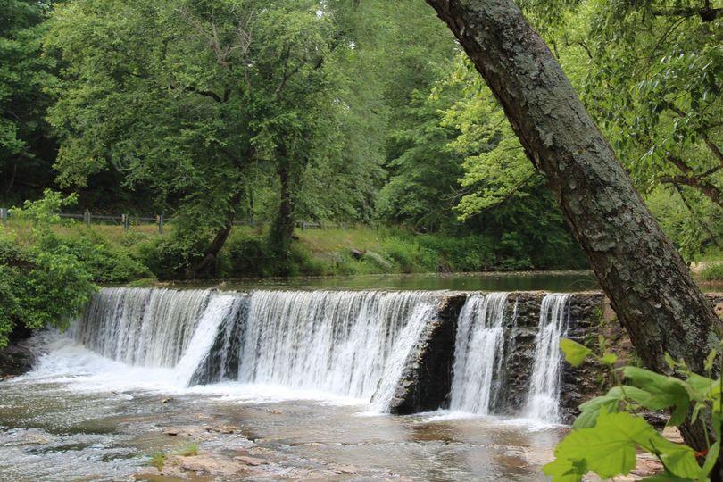 Stunning waterfall views