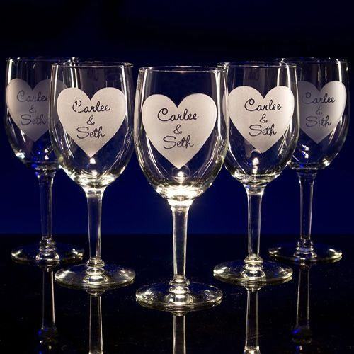 All our glassware is completely customizable!