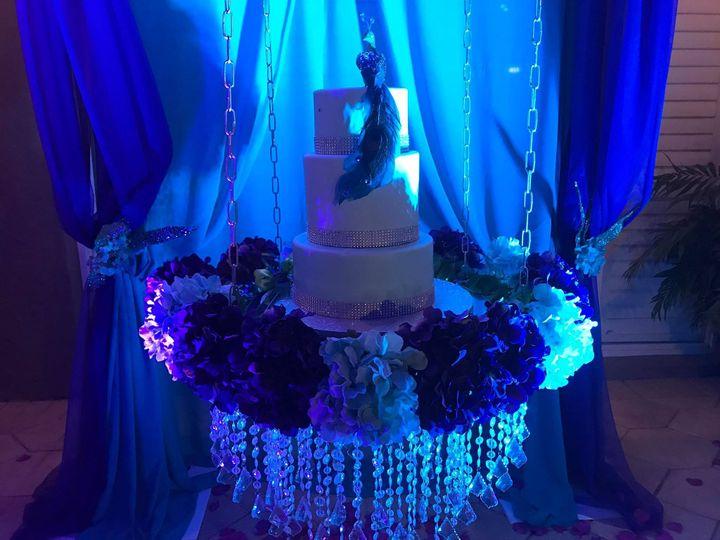 Wedding cake hanging