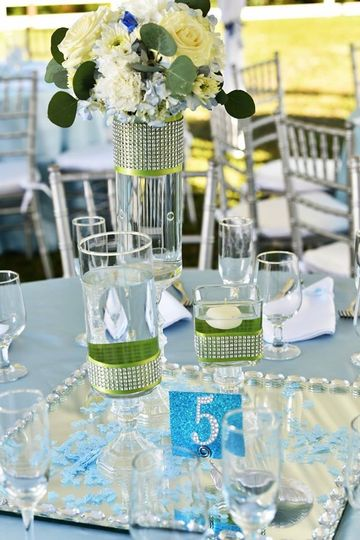 Table number signage