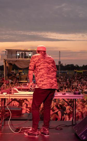 DJing for the Troops