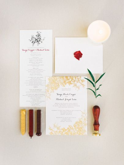 Stationary suite by B+B  Printed by Minted Photos by Sean Cook Wedding