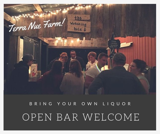 Bring in your own liquor