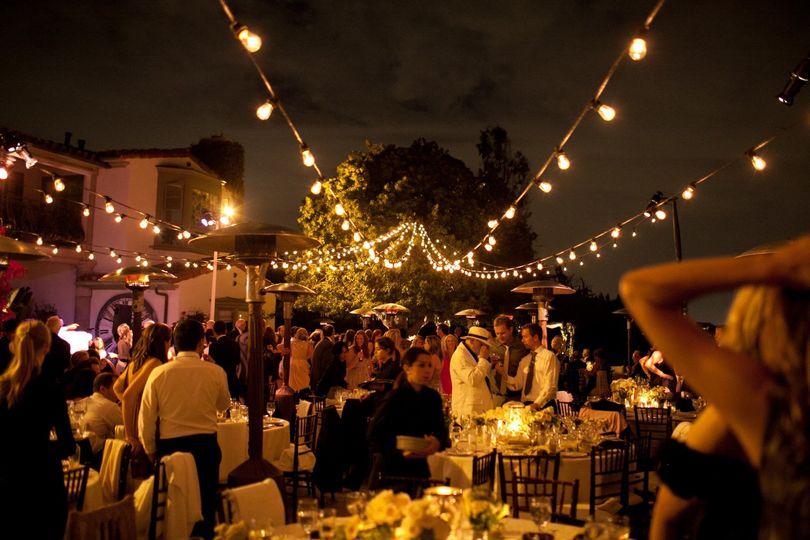 Private estate wedding.