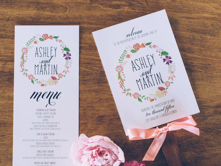 Tmx 1466782615929 Edaileen Big Fake Wedding Watermarked 316 Park Forest, IL wedding invitation