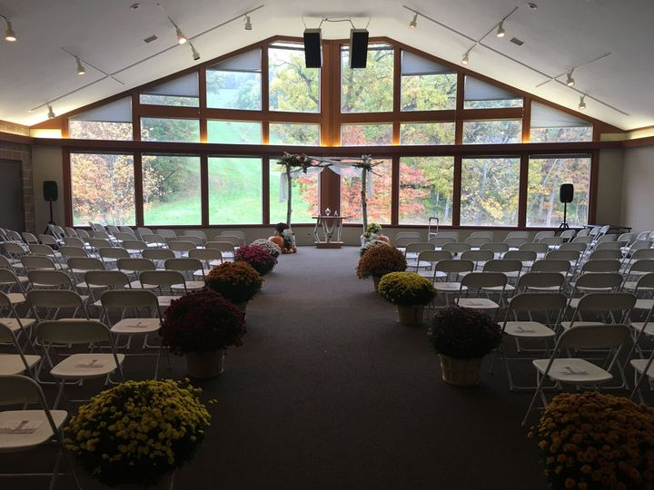 Indoor Ceremony Location W/Outdoor Ceremony Site