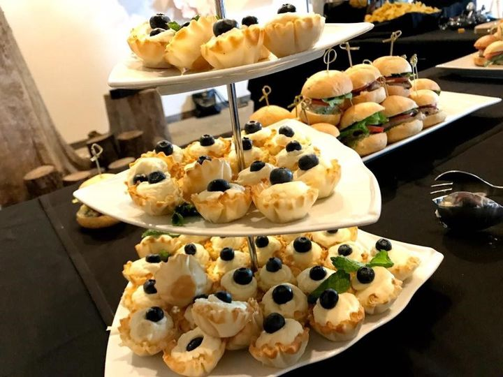 Desserts and sliders