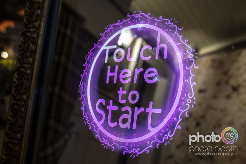 Touch Here to Start-Animation