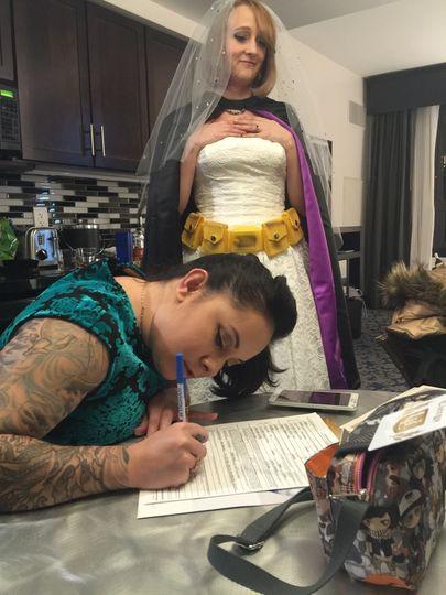 Documentation signing