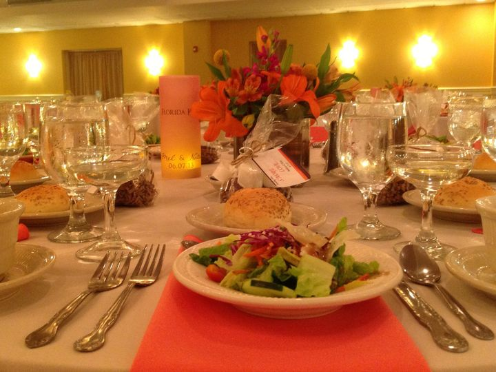Tmx 1379780000688 Orangewhitewedding1 Blue Bell wedding catering