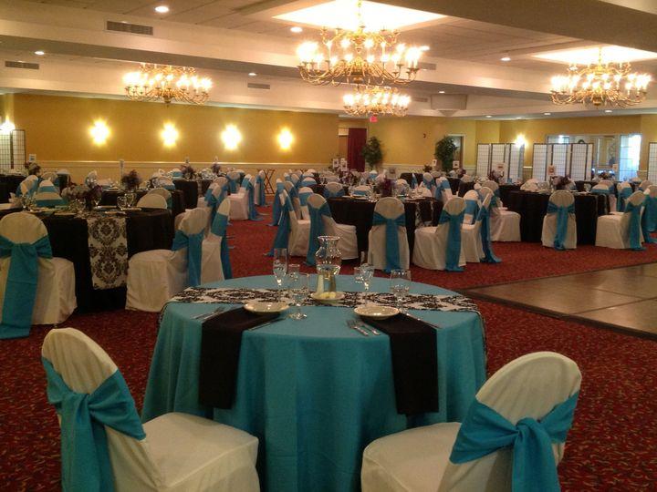 Tmx 1379782065702 Bluewhiteblackwedding2 Blue Bell wedding catering
