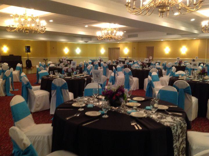 Tmx 1379782078080 Bluewhiteblackwedding3 Blue Bell wedding catering