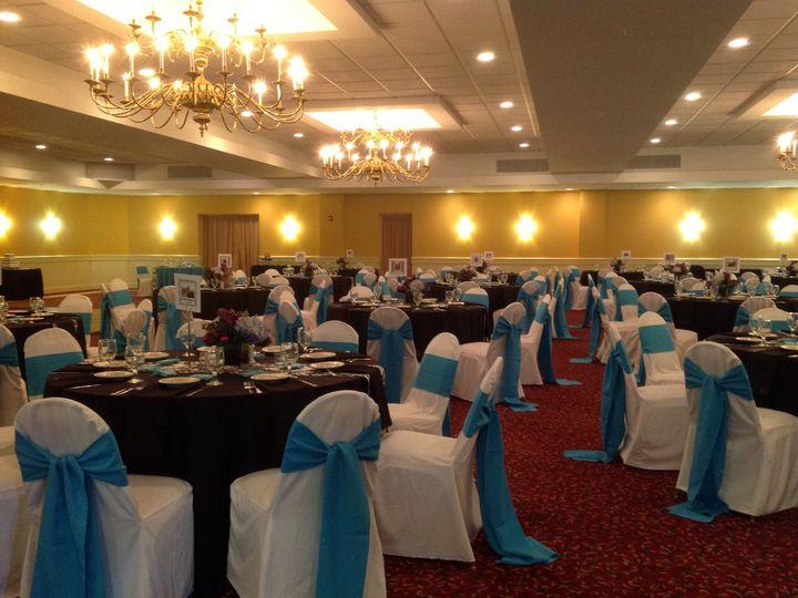Tmx 1379782092522 Bluewhiteblackwedding4 Blue Bell wedding catering