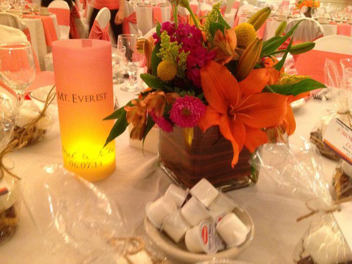 Tmx 1379782145989 Orangewhitewedding2 Blue Bell wedding catering