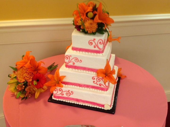 Tmx 1379782160440 Orangewhitewedding3 Blue Bell wedding catering
